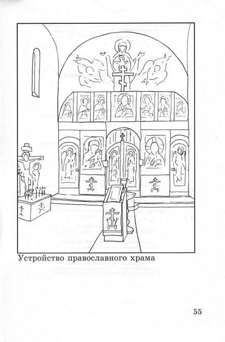 Балкон внутри церкви сканворд.